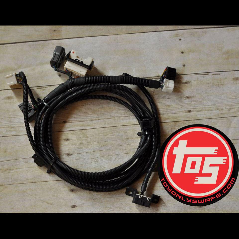 plug \u0026 play harness 88 95 3 0 v6 using original automatic transmission to 3 4 v6 toyota t100 ecu Dodge Caravan Transmission